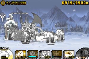 にゃんこ大戦争-雪まつりステージ2