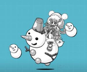 雪だるまのスノーカイ